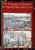The Economy of Europe in an Age of Crisis 1600-1750