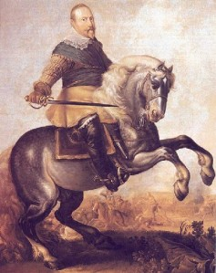 Gustavus_Adolphus_at_the_Battle_at_Breitenfeld